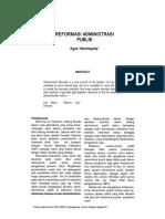 Reformasi Administrasi Publik