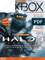 Revista Xbox Oficial Ano 10 Nº 114 - Halo 5
