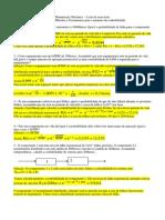 Lista de Exercícios Resolvida(Manutenção Mecânica)
