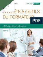 La Boîte à Outils Du Formateur -Dominique Beau