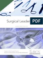 Surgical leadership