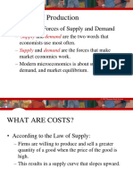 Cost of Production in economics