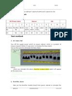 BTS3900 Instruction of Alarm Test for Indoor