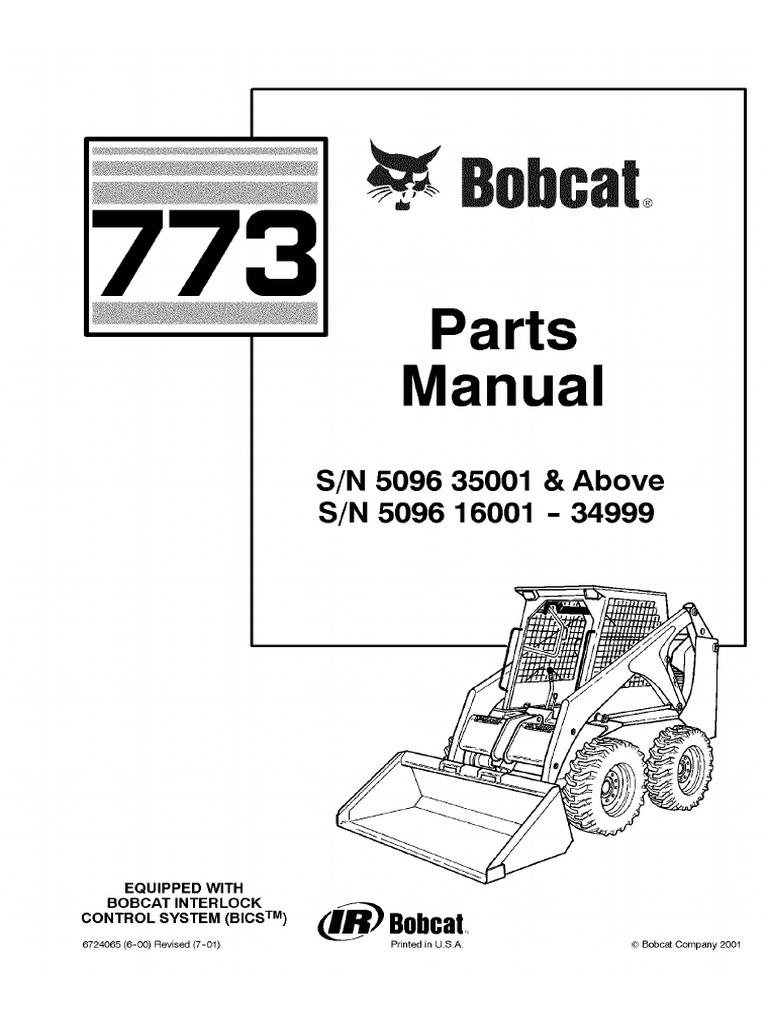 Bobcat 773 Parts Diagram Seat Wiring Diagram Schema