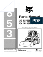 Bobcat 853 Skid Steer Loader Parts Catalogue Manual (SN 509718001 & Above).pdf