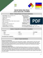 xMSDS-Sodium Hydroxide 0 1N-9926853