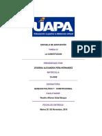 Actual Tarea 4 Derecho Constitucional Jessenia Peña 15 4349