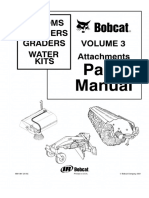 Bobcat Brooms Sweepers, Graders, Water Kits Attachments Parts Catalogue Manual.pdf