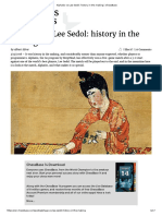 AlphaGo vs Lee Sedol History in the Making