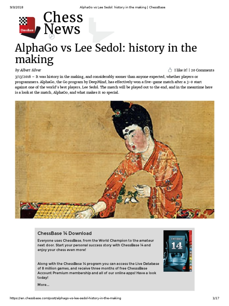 AlphaGo vs Lee Sedol History in the Making | Traditional