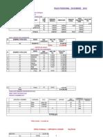 Planilla de Construcción Civil en Excel