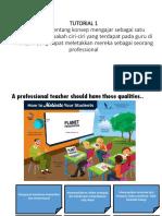 Konsep professionalisma dan ciri guru yang professional