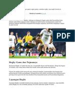 Keamanan Main Rugby