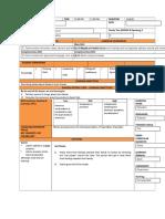 Form 3 Lesson Plan 6 Speaking 1 2019
