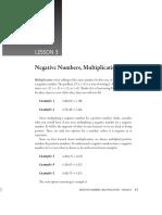 Prealgebra Sample Lesson