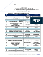 01. Calendar_Olimpiade Si Concursuri Internationale_2019 HG 536_09.01.2019