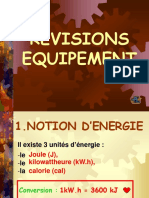 Cours Equipement
