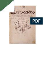Leitura Do Livro Do Tombo Do Convento Do Carmo