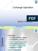Power Exchange Operation