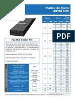 Platinas de Acero a36