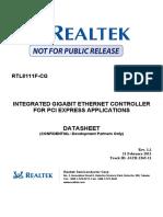Realtek Semicon RTL8111F CG C220087