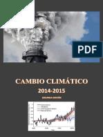 Cambio Climatico 2014-2015