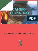 Cambio Climatico 2016