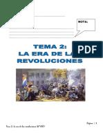 Tema 2 La Era de Las Revoluciones - GEO 4º ESO