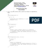 lista05-Recursividade