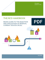 BEAMA GUIDE TO THE SELECTION AND APPLICATION OF RESIDUAL CURRENT DEVICES (RCDs) 2018