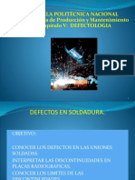 Tema 5.Defectos en Soldadura