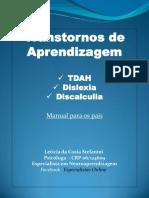 Transtornos-De-Aprendizagem TDAH, Dislexia e Discalculia. Manual Para Pais. PDF-1