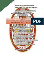 Monografia de Empresas Informales y Su Influencia en La Economia Del Peru en El Año2014