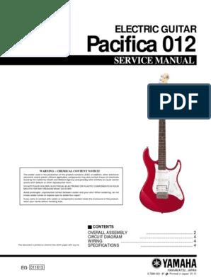 wiring diagram yamaha pacifica 921 yamaha pacifica 012 guitars guitar family instruments  yamaha pacifica 012 guitars guitar
