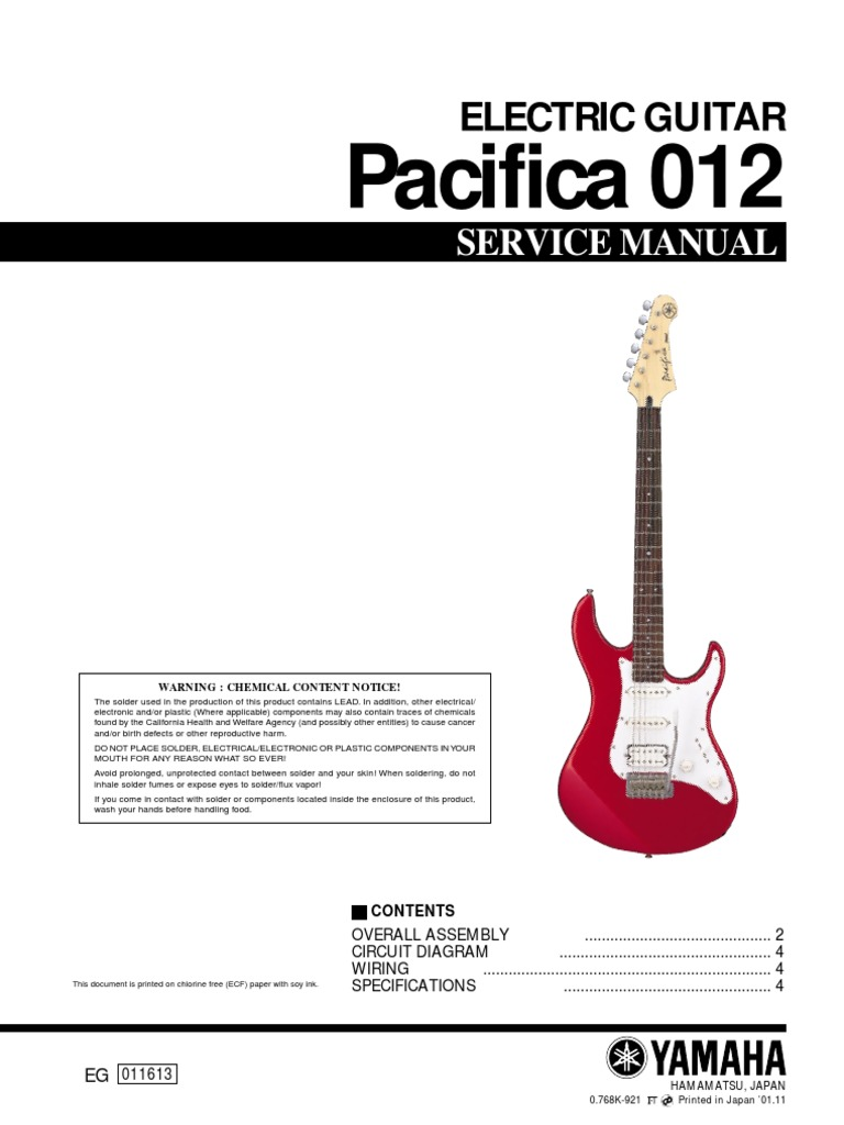 Yamaha Guitar Wiring Schematic - Wiring Diagram Variable on
