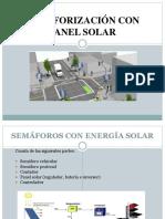 Semaforización Con Panel Solar