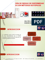 Estratificación de Riesgo de Enfermedad Coronaria Con Métodos
