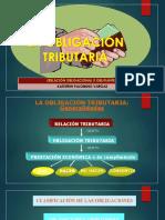 LA OBLIGACIÓN TRIBUTARIA 1ra PARTE
