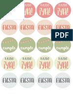 Stickers Agenda 2017