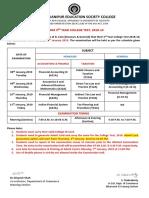 Notice 3 Project Guideline as Per CU