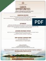 Job Ad - 13 Jan 2019