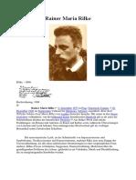 Rainer Maria Rilke Germ