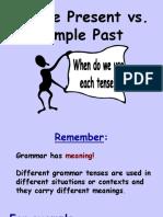 Present Simple vs Past Simple