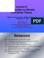 Introduction to Density Functional Theory