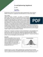 Statistics Supplement McEvoy