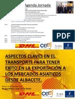 Taller Logistica y Aduanas Ipex Albacete Resumen