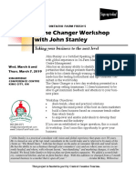 Game Changer Workshop with John Stanley