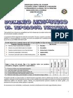 Respuestas Teoría Tipología Textual 12 Enero