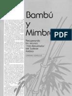 bambu y mimbre