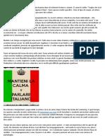 L'Italia dovrebbe chiudere i confini con gli stranieri?